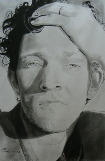 Vincent Cassel by johnsy